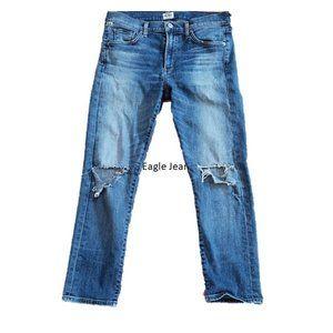 Citizens of Humanity Agnes Crop Jeans sz 28